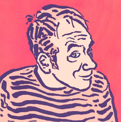 Burkart self portrait